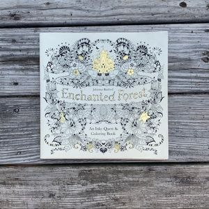 Enchanted Forest Adult Coloring Book by Jo…